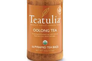 OOLONG ORGANIC PYRAMID TEA BAGS
