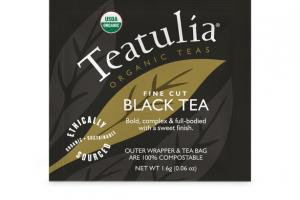 BLACK ORGANIC FINE CUT TEA BAG