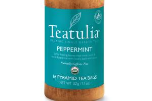 PEPPERMINT ORGANIC PYRAMID TEA BAGS
