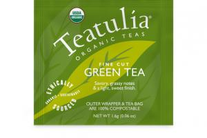 GREEN ORGANIC FINE CUT TEA BAG
