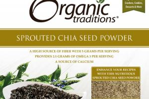 SPROUTED CHIA SEED POWDER