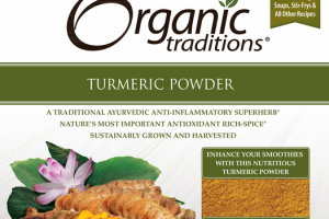 A TRADITIONAL AYURVEDIC ANTI-INFLAMMATORY SUPERHERB TURMERIC POWDER DIETARY SUPPLEMENT