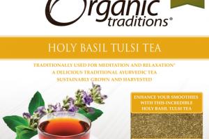 HOLY BASIL TULSI TEA DIETARY SUPPLEMENT