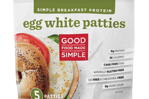 EGG WHITE PATTIES