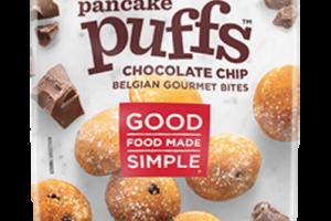 CHOCOLATE CHIP BELGIAN GOURMET BITES PANCAKE PUFFS
