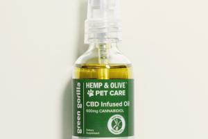 HEMP & OLIVE CBD INFUSED OIL 600MG CANNABIDIOL PET CARE DIETARY SUPPLEMENT