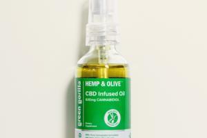 HEMP & OLIVE CBD INFUSED OIL 600MG CANNABIDIOL DIETARY SUPPLEMENT