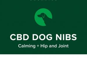 CBD DOG NIBS CALMING + HIP AND JOINT PET SUPPLEMENT, FREEZE DRIED ULTRA-WELLNESS LAMB