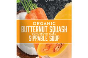 ORGANIC BUTTERNUT SQUASH BONE BROTH BASED SIPPABLE SOUP