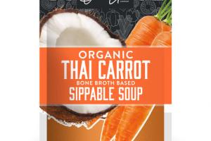 ORGANIC THAI CARROT BONE BROTH BASED SIPPABLE SOUP