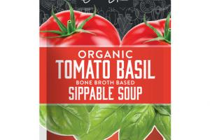 TOMATO BASIL ORGANIC BONE BROTH BASED SIPPABLE SOUP