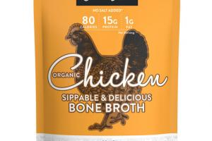 CHICKEN ORGANIC BONE BROTH