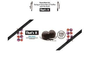 SEA SALT ORGANIC DARK CHOCOLATE FIG TRUFFLES