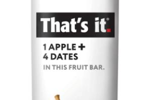 1 APPLE + 4 DATES FRUIT BAR