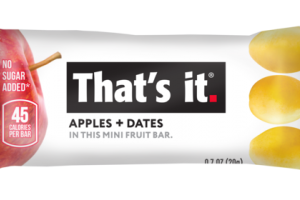 APPLES + DATES MINI FRUIT BAR
