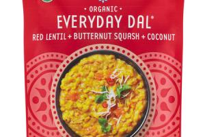ORGANIC RED LENTIL + BUTTERNUT SQUASH + COCONUT EVERYDAY DAL