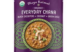 BLACK CHICKPEAS + COCONUT + GREEN CHILI EVERYDAY CHANA