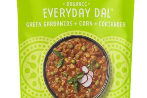 GREEN GARBANZOS + CORN + CORIANDER EVERYDAY DAL