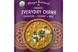 CHICKPEAS + COCONUT + KALE EVERYDAY CHANA