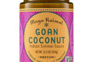 MEDIUM GOAN COCONUT INDIAN SIMMER SAUCE