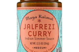 MEDIUM JALFREZI CURRY INDIAN SIMMER SAUCE