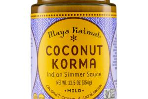 MILD COCONUT KORMA INDIAN SIMMER SAUCE