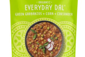 GREEN GARBANZOS + CORN + CORIANDER EVERYDAY DAL