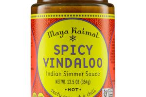 HOT SPICY VINDALOO INDIAN SIMMER SAUCE