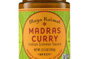 SPICY MADRAS CURRY INDIAN SIMMER SAUCE