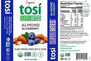 ALMOND BLUEBERRY ORGANIC PLANT PROTEIN FROM NUTS & SEEDS