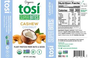 CASHEW COCONUT ORGANIC PLANT PROTEIN FROM NUTS & SEEDS