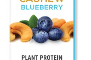 CASHEW BLUEBERRY ORGANIC PLANT PROTEIN FROM NUTS & SEEDS