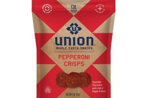 PEPPERONI CRISPS WHOLE EARTH SNACKS