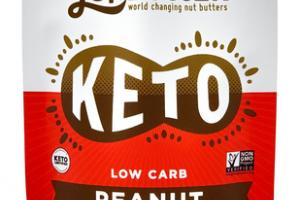 PEANUT BUTTER KETO LOW CARB WITH MCT POWDER