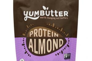 NO ADDED SUGAR ALMOND BUTTER WITH PLANT PROTEIN & PROBIOTICS