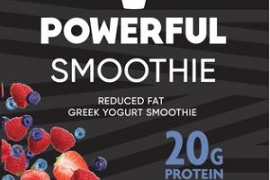 MIXED BERRY REDUCED FAT GREEK YOGURT SMOOTHIE