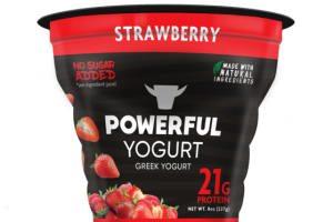 STRAWBERRY GREEK YOGURT