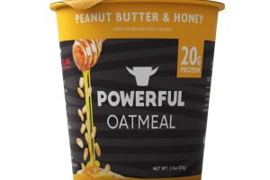 PEANUT BUTTER & HONEY OATMEAL