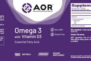 OMEGA 3 WITH VITAMIN D3 ESSENTIAL FATTY ACID PREMIUM DIETARY SUPPLEMENT