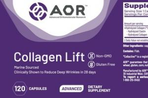 COLLAGEN LIFT ADVANCED MARINE SOURCED DIETARY SUPPLEMENT CAPSULES