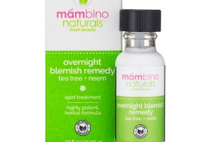 TEA TREE + NEEM OVERNIGHT BLEMISH REMEDY