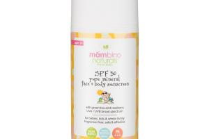 FRESH BABY SPF 30 PURE MINERAL FACE + BODY SUNSCREEN