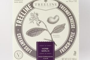 FRENCH-STYLE HERB-GARLIC CREAMY SOFT TREENUT CHEESE