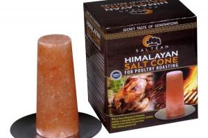 HIMALAYAN SALT CONE FOR POULTRY ROASTING