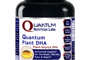 QUANTUM PLANT-SOURCE DHA ADVANCED SUPPORT FOR THE BRAIN, NERVES, EYES & HEART DIETARY SUPPLEMENT VEGETARIAN SOFTGELS