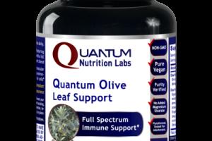 QUANTUM OLIVE LEAF FULL SPECTRUM IMMUNE SUPPORT DIETARY SUPPLEMENT VEGETARIAN CAPSULES