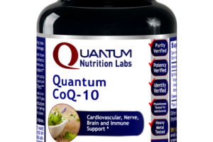 QUANTUM COQ-10 CARDIOVASCULAR, NERVE, BRAIN AND IMMUNE SUPPORT DIETARY SUPPLEMENT VEGETARIAN CAPSULES
