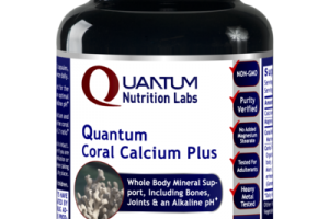 QUANTUM CORAL CALCIUM PLUS WHOLE BODY MINERAL SUPPORT, INCLUDING BONES, JOINTS & AN ALKALINE PH DIETARY SUPPLEMENT VEGETARIAN CAPSULES