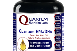 QUANTUM EPA/DHA DEEP SEA FISH OIL NATURAL TRIGLYCERIDE FORM PROMOTES HEART AND JOINT HEALTH DIETARY SUPPLEMENT SOFTGEL CAPS