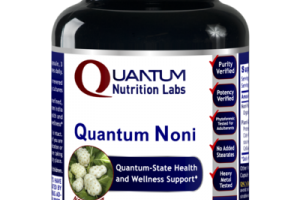 QUANTUM-STATE NONI FRUIT HEALTH AND WELLNESS SUPPORT DIETARY SUPPLEMENT VEGETARIAN CAPSULES